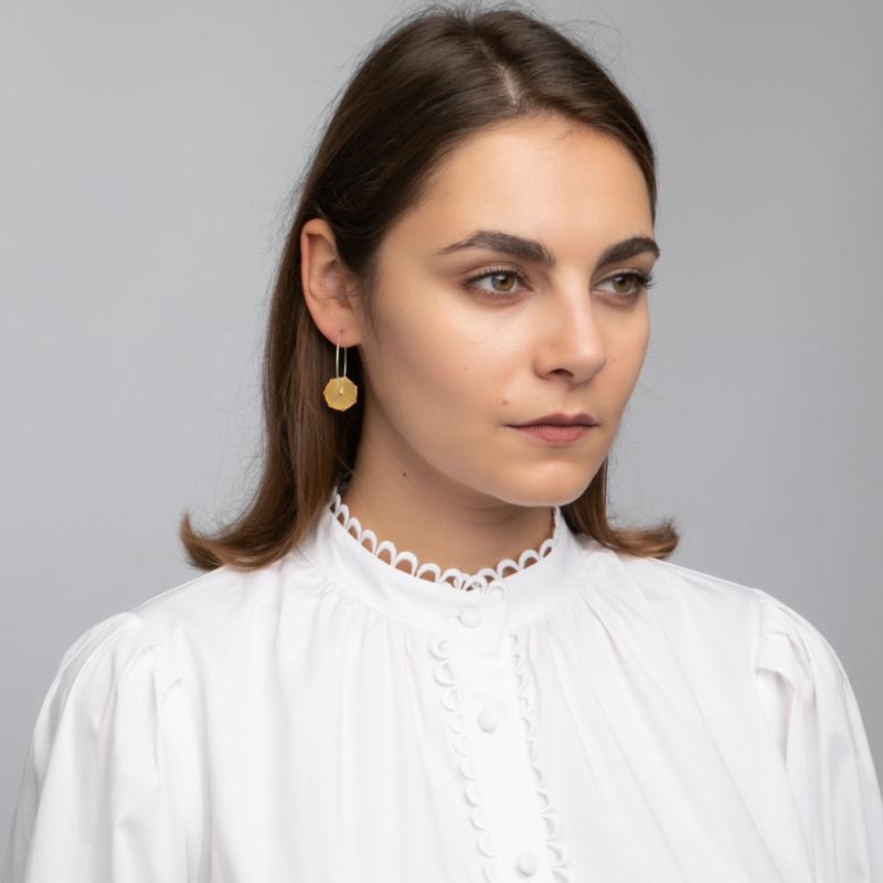Roda Hoop Earrings