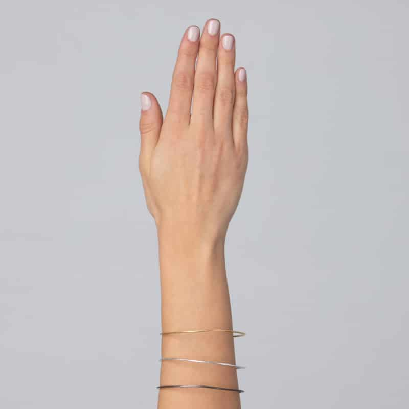 Minimalist Stacking Bangles