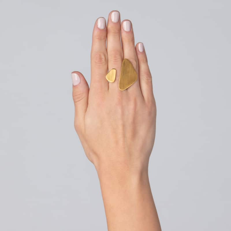 Chunky Gold Open Ring