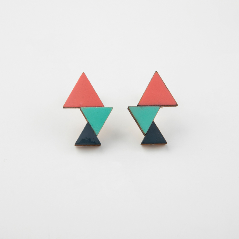 Triangular Wooden Studs
