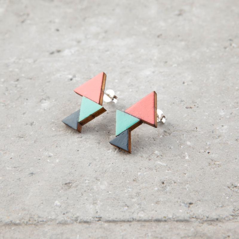 Triangular Wooden Studs