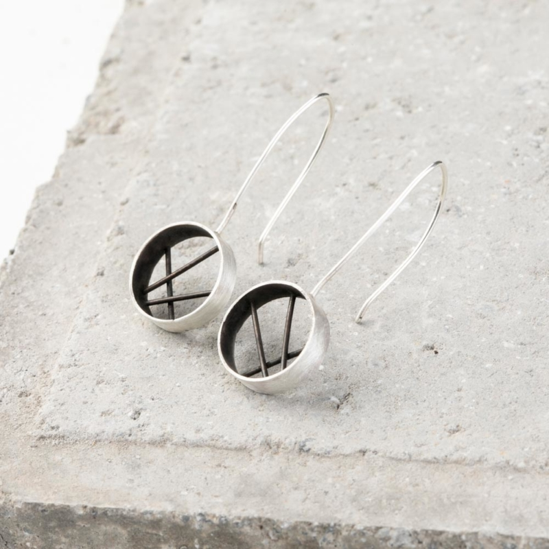 Diffraction Dangle Earrings