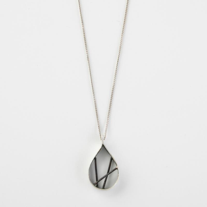 Diffraction Pendant Necklace