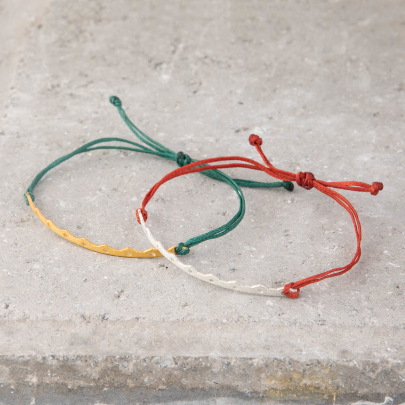 Fine Gold Cord Bracelet