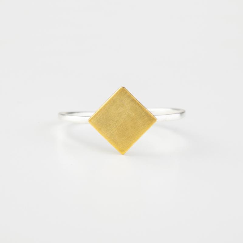 Fine Rhombus Ring