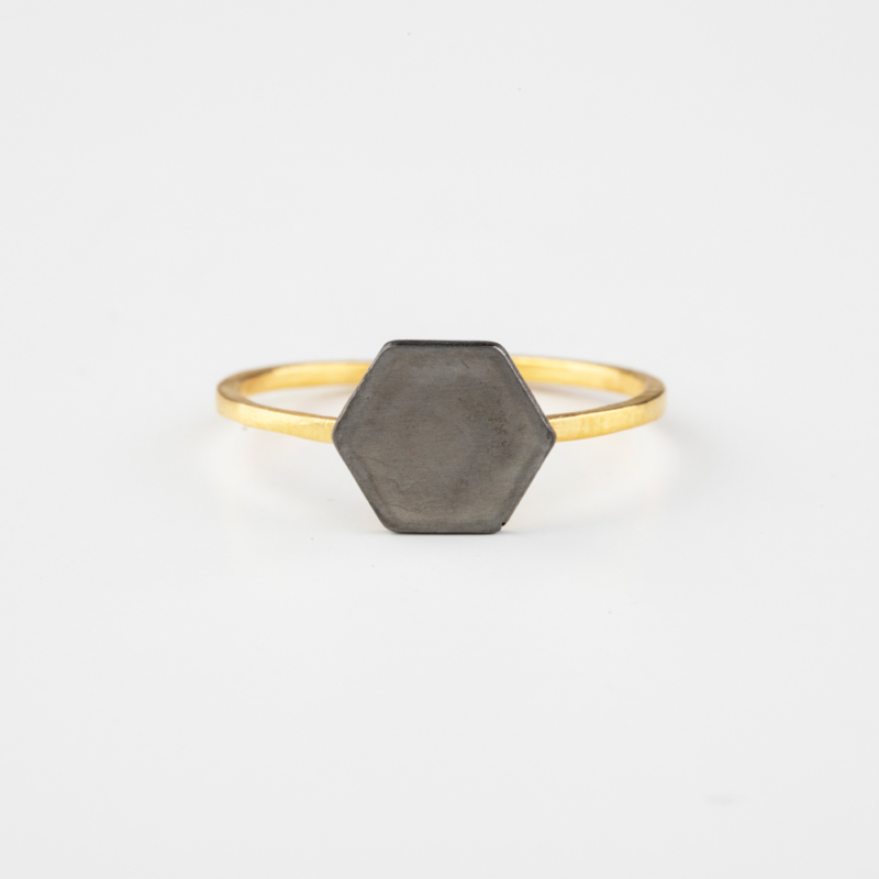 Fine Polygon Ring