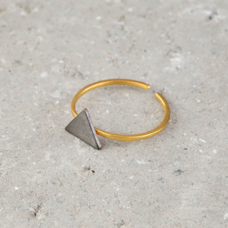 Fine Triangle Ring