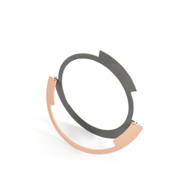 Rona Two Tone Bangle
